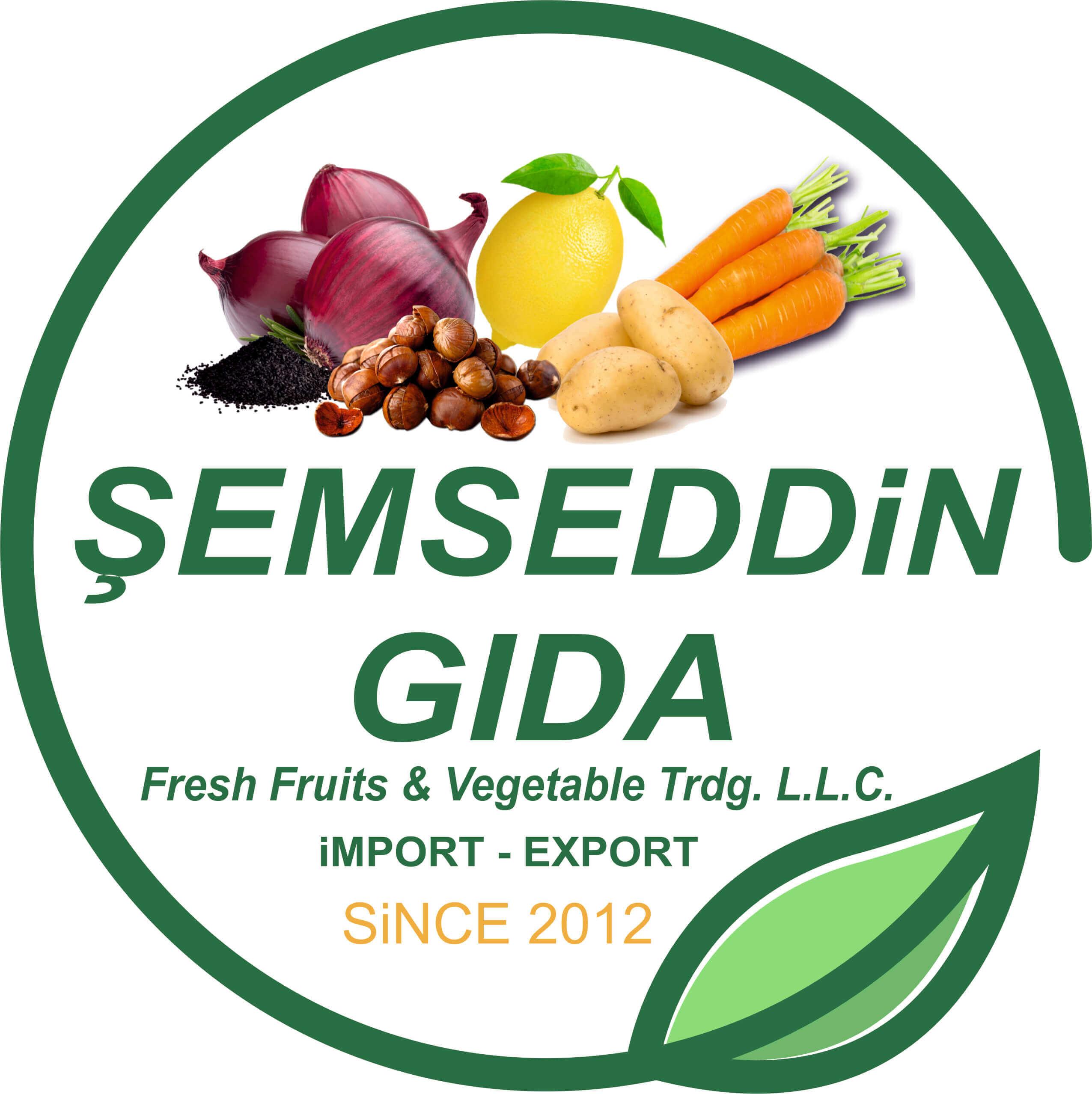Şemseddin Gıda Logo Çalışması